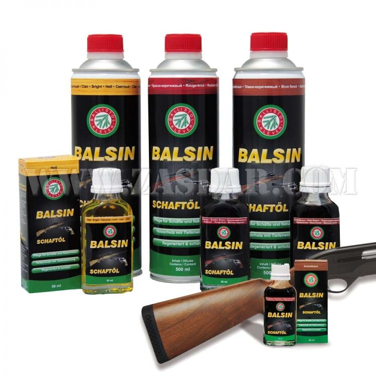 Balsin Aceite Protector Reddish Brown 50 ml