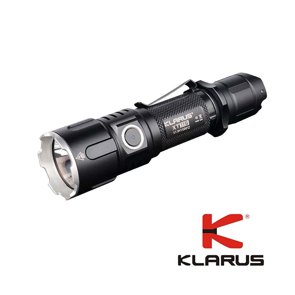 XT11S Klarus flashlight 1100 Lumens