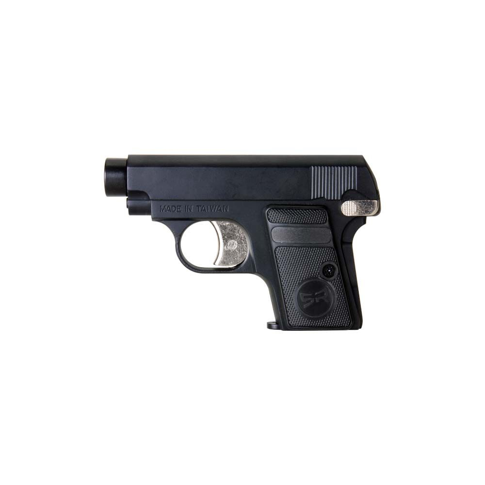 Pistola SRGG Black 0.25 Gas GNB - 6 mm