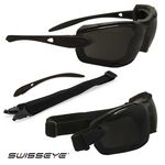 Kit Gafas  SWISSEYE DETECTION negras