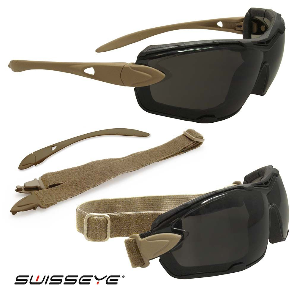 Kit Gafas  SWISSEYE DETECTION coyote