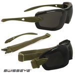 Glasses Kit Swisseye olive green DETECTION