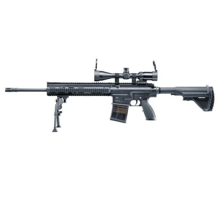 "Subfusil H & K 417 D Sniper 20 "" Fullmetal Electrica - 6 mm VFC - V2 + Mosfet (does not include visor)"
