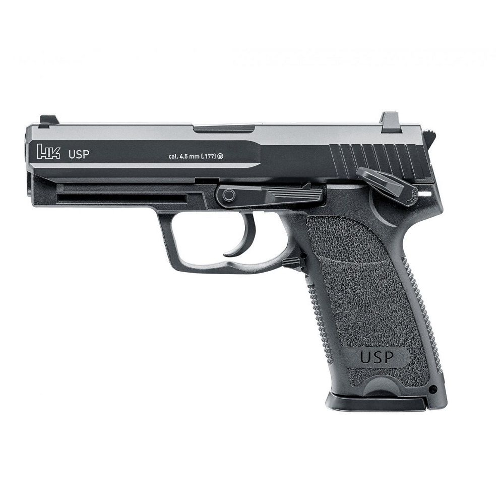 Pistola H&K USP Blowback Co2 - 4,5mm. BBs
