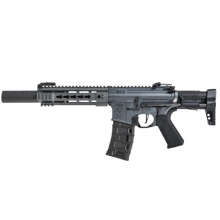 Submachine gun Vega VR16 Saber SD Urban Gray AEG - 6 mm VFC