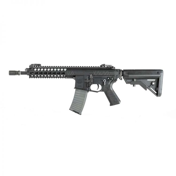 Vega Avalon Gladius Carbine Submachine Gun AEG - 6 mm Black VFC