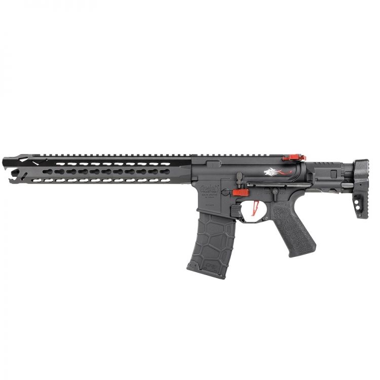 Vega Avalon Leopard Carbine Submachine Gun AEG - 6 mm Black VFC