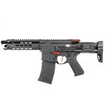 Vega Avalon Leopard Submachine Gun CQB AEG - 6 mm Black VFC