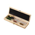 Zasdar cleaning kit for caliber .12 with wooden case